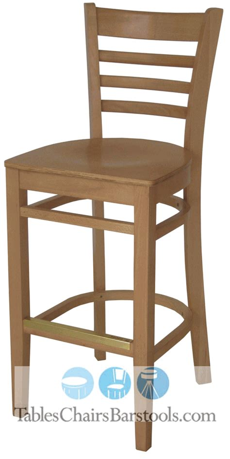 Kick Plates For Bar Stools by Gladiator Commercial Wooden Ladderback Restaurant