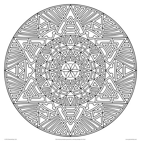 abstract geometric coloring page geometric coloring pages bestofcoloring com