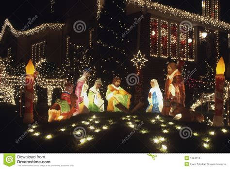 christmas decoration jesus stock images image 1604114