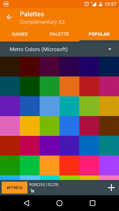 color themes android app color scheme builder android apps on google play