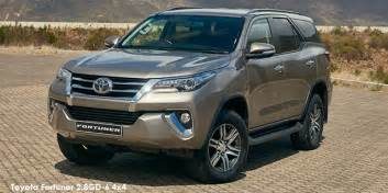 toyota new car prices south africa toyota fortuner price toyota fortuner 2016 2017 prices