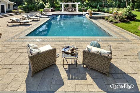Firerock Outdoor Fireplace - techo bloc outdoor kitchen patio pool