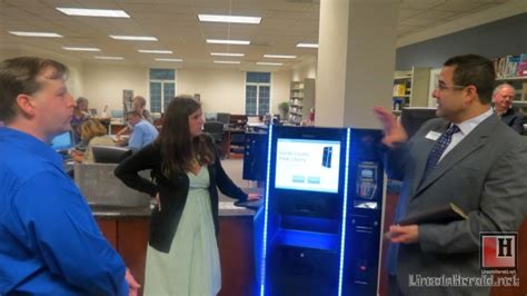 lincoln county library nc lincoln county library unveils rfid system lincoln