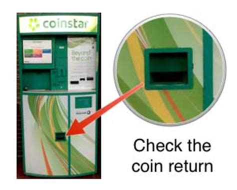 Coinstar Gift Card Kiosk Near Me - save time by using coinstar to count your spare change