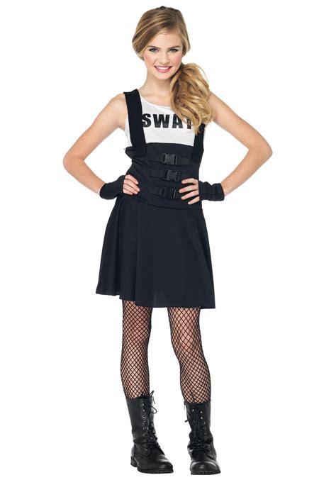 halloween costumes for teen girls teen swat girl costume