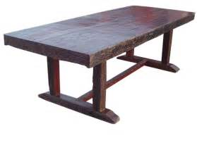 Dinner Table Benches Rustic Wood Dining Room Furniture In San Diego San Diego