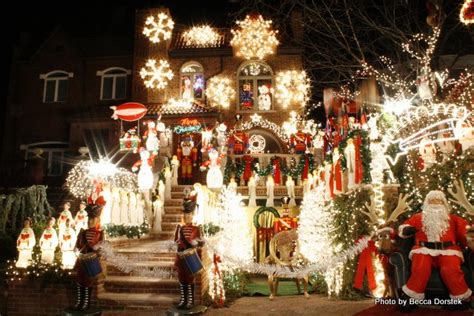 best christmas home decorations in brooklyn lights to amaze you