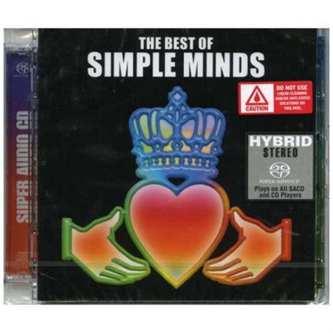 simple minds the best of simple minds the best of uk audio cd sacd 209458
