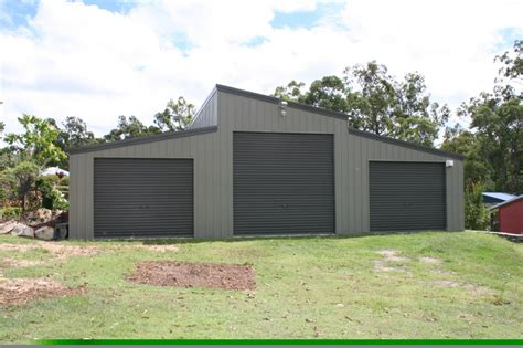 Skillion Roof Shed by Monopitch Skillion Roof Garage Clarence Valley Sheds