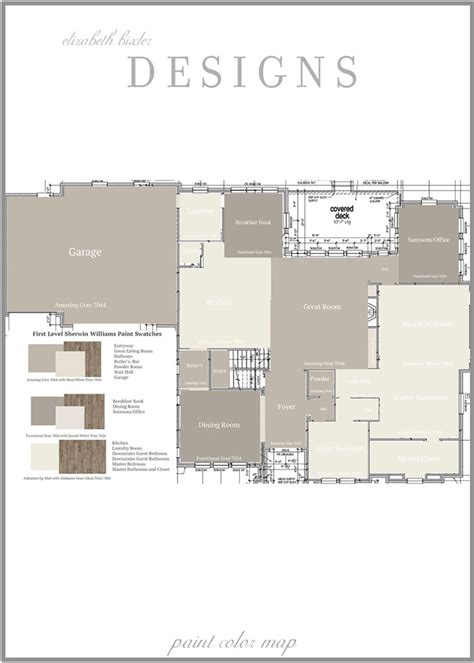 open floor plan color scheme lair pinterest room color map layout