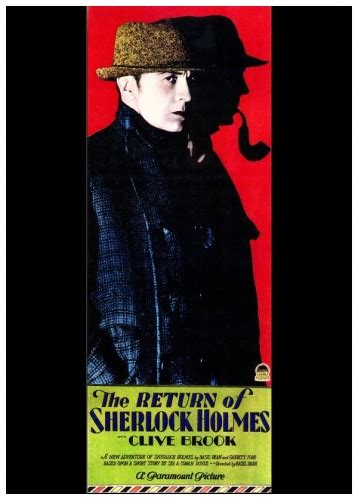 filme schauen the return of sherlock holmes film review the return of sherlock holmes 1929 hnn