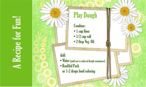 printable playdough recipes homemade play dough living locurto