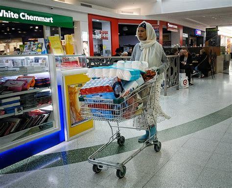 coronavirus toilet paper panic buying hits sydney  shoppers  melbourne stripped shelves