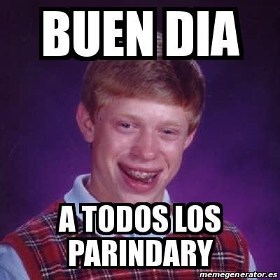 Buen Dia Meme - meme bad luck brian buen dia a todos los parindary