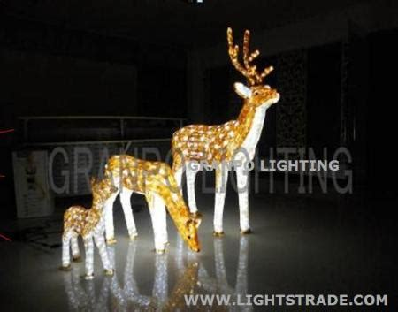 images of christmas lite deers outside granpo led light outdoor decoration ip44 3d deer animal light in light granpo
