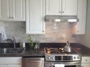 modern ceramic tile backsplash twist on a classic kitchen