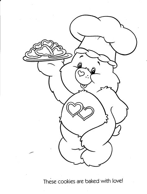 care bear coloring page free free coloring pages of care bears drawings