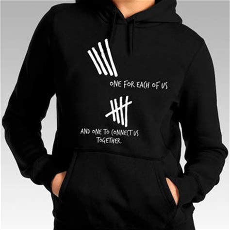 Jaket Sweater Hoodie 5sos 5 Seconds Of Summer 1 5 second of summer hoodie 5sos hoodie one from maymeabidshop on