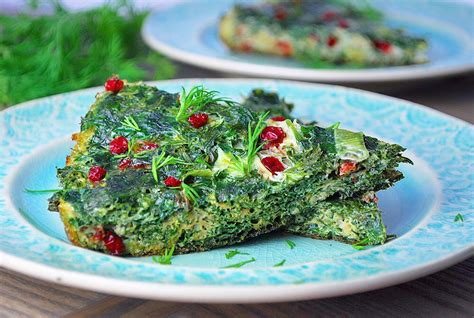 new year tofu dish kuku sabzi herb frittata ahu eats