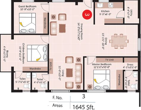 sunshine homes floor plans 1645 sq ft 3 bhk 3t apartment for sale in super homes