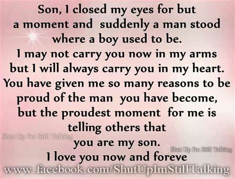 he hid a message for his sweetheart in the family happy birthday son quotes quotesgram
