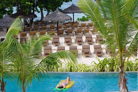 Pavillon Zum Aufpumpen by Entspannung Pur Im Kempinski Seychelles Resort An Der
