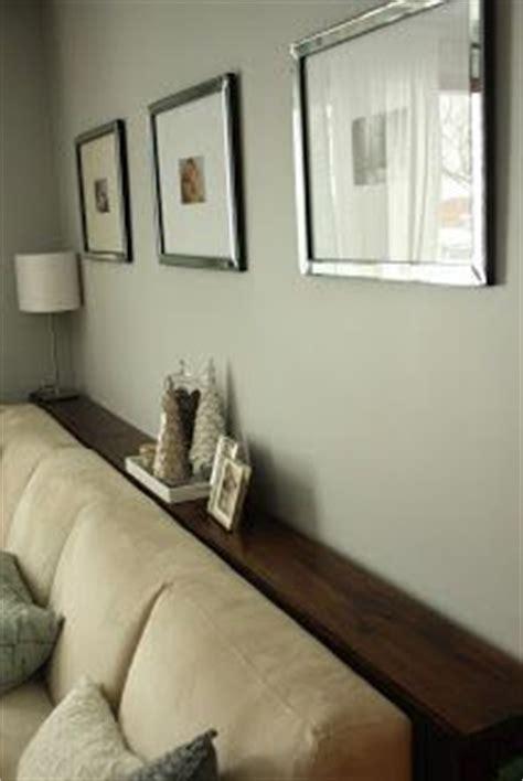 table sofa against wall simple diy sofa tables sofa table and