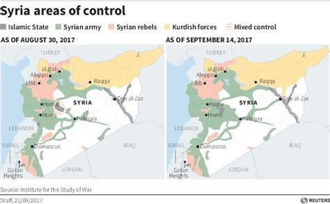 map of iran and syria how the u s lost the war in syria to russia and iran