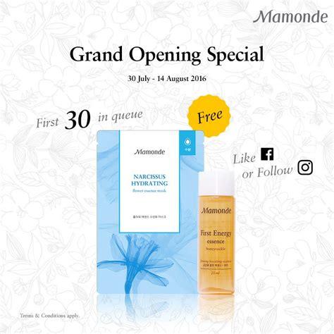 Mamonde Energy Essence 25ml bestlah mamonde free flower essence sheet mask