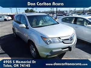 Don Carlton Hyundai Of Tulsa 2008 Acura Mdx For Sale Carsforsale