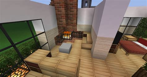 minecraft home interior modern house interior minecraft project