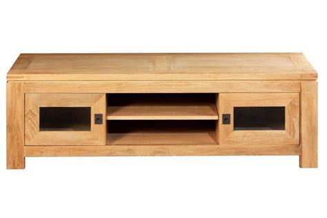 meuble tv chene meuble tv bas chene clair