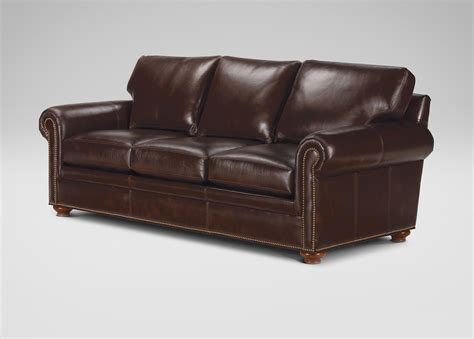 ethan allen ethan allen leather sofas richmond leather sofa