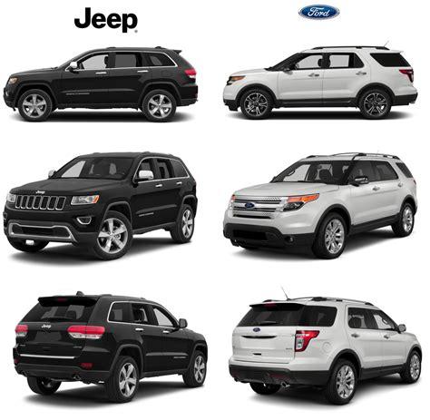 Jeep Grand Vs Ford Explorer Grand Vs Ford Explorer In Dade City Lakeland Fl