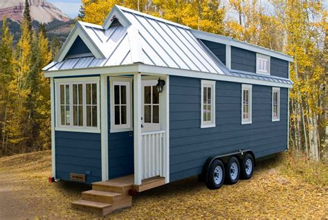 tiny house with tumbleweed tiny houses