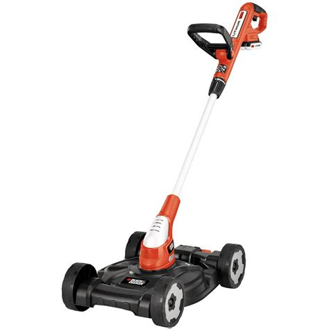 black decker mower black decker 20 volt max 12 in cordless electric 3 in 1