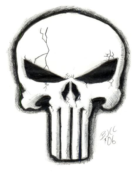 punisher skull by brentcherry on deviantart