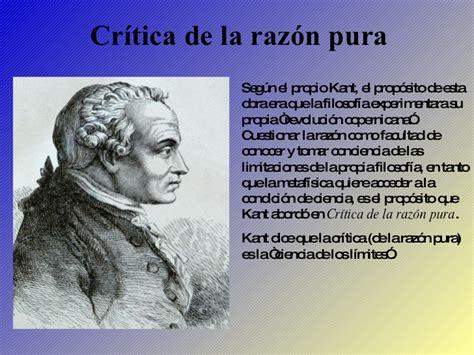 2 critica de la teoria del conocimiento de kant