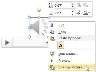 format audio powerpoint 2010 learn powerpoint 2010 for windows format tab for audio