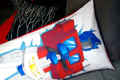 Transformers Pillow by Transformers G1 Optimus Prime Pillow
