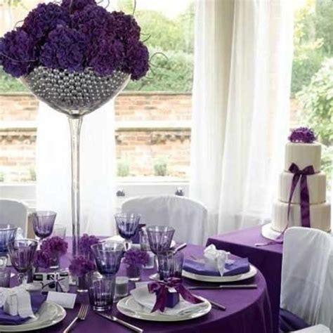 Wedding Decoration: Engaging Purple Wedding Ornament