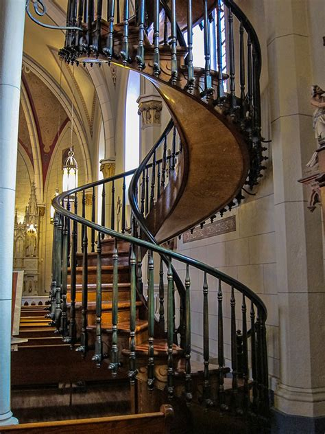 famous stairs loretto chapel church the famous spiral staircase santa fe