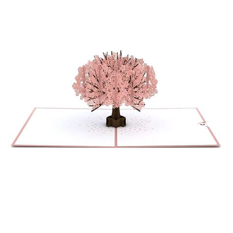 cherry blossom tree card template cherry blossom pop up s day card lovepop