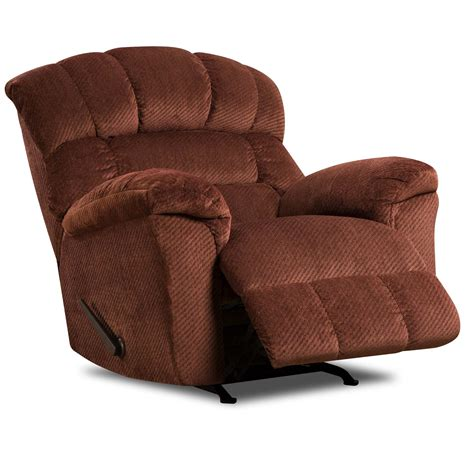 Industries Recliner by United Furniture Industries 558 Large Scale Rocker
