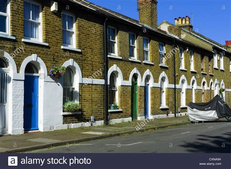 buy house bromley a suburban street of small terraced houses in bromley south london stock photo