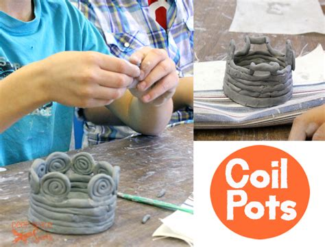 how to build a r how to make a coil pot space sparkle