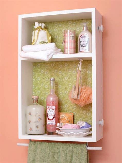 diy bathroom wall cabinet 42 bathroom storage hacks that ll help you get ready faster