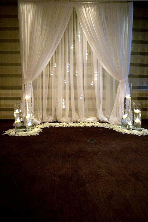 Cheap Fabric For Wedding Draping 40 Wedding First Night Bed Decoration Ideas Bored Art