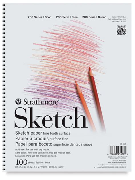 sketch pad strathmore 200 series sketch pads blick materials