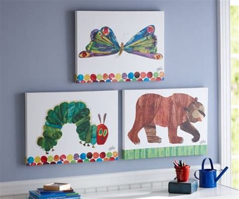 eric carle curtains need to make this for the nursery oh how i love eric